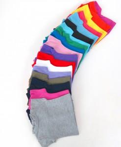 t-shirts, cotton, 20 colors