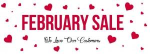 Feb Sale